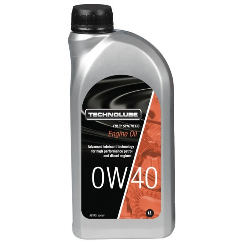 Technolube 0W40 Fully Synthetic 1L