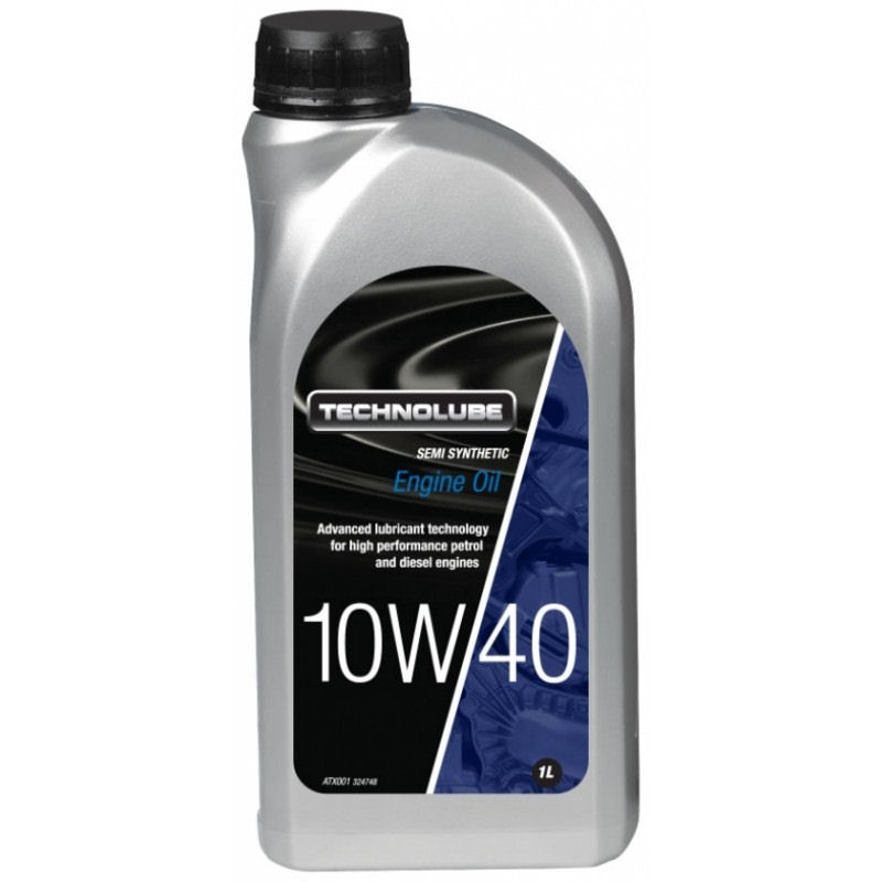 Technolube 10W40 Semi Synthetic 1L