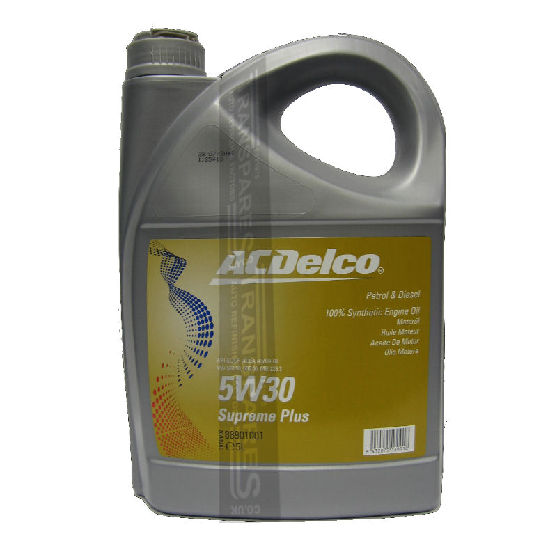 AC Delco 5W30 Fully Synthetic 5L
