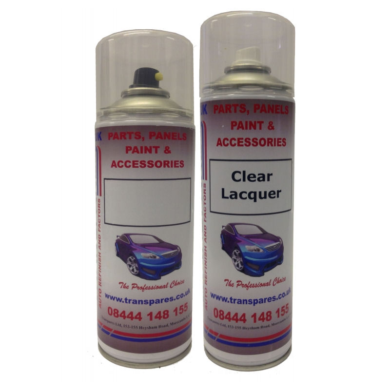 Any Make, Any Model Exact Colour Match Aerosol Kit (Choose Your Colour Code)