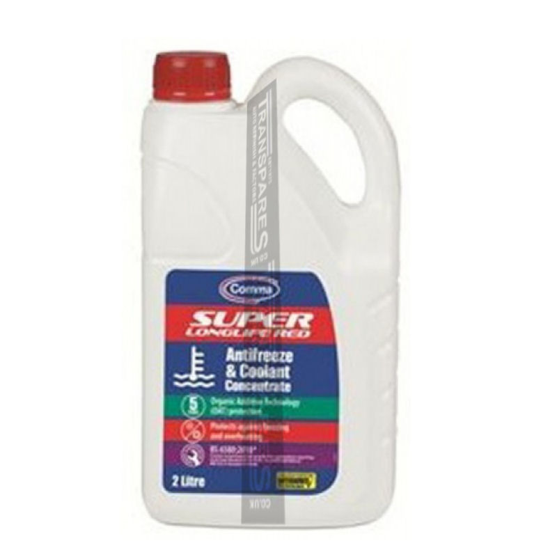 Comma Anti Freeze Red 2L Concentrated