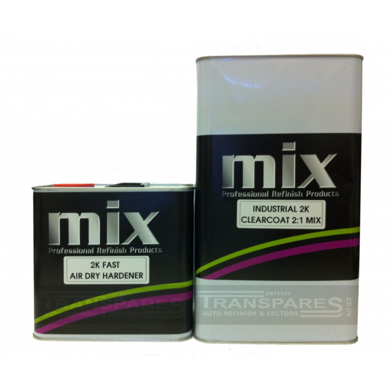 Mix ClearCoat (Industrial) 7.5L Kit