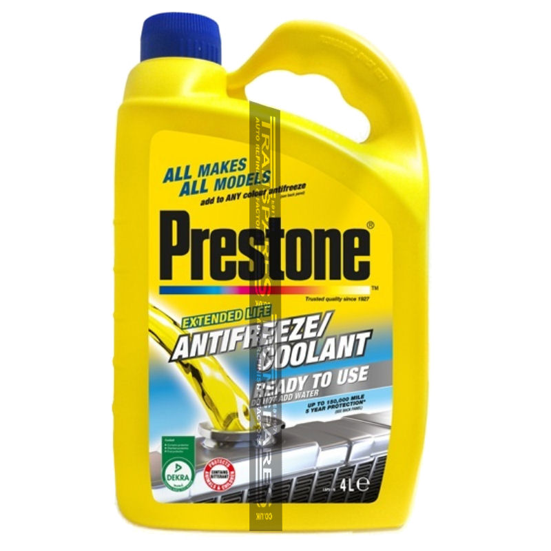 Prestone Anti Freeze 4L Ready For Use